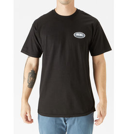 Real Real - Small Oval Tee - Black - L