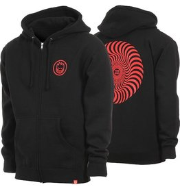 Spitfire Spitfire - Classic Swirl Zip - Black/Red - M