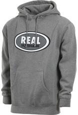 Real Real - Oval Hood - Gunmetal Heather - M