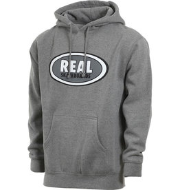 Real Real - Oval Hood - Gunmetal Heather - M