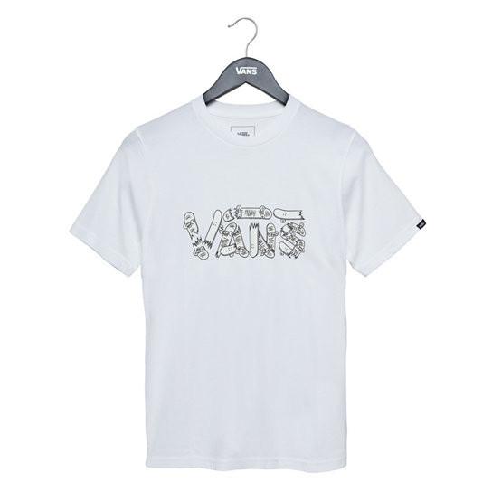 Vans Vans - Focus SS Boys - White - L/12år