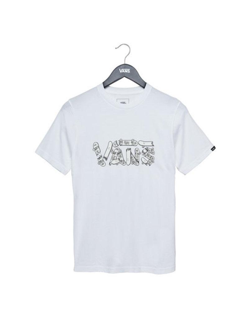 Vans Vans - Focus SS Boys - White - XL/14år