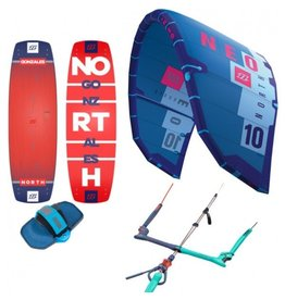 North Kiteboarding North • Pakke - Start & Allround • 9m2