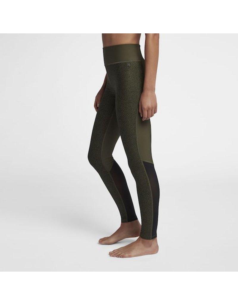 Hurley Hurley - Cheetah Legging - M - Mesh - Cargo Khaki (325)