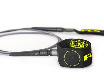 FCS FCS - 6' FREEDOM Leash Charcoal/Green