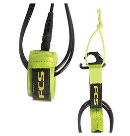 FCS FCS 7' Reg Essential Leash Fluro Green