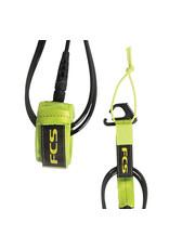 FCS FCS 6' Reg Essential Leash Fluro Green