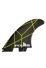 FCS FCS II KA PC Grey/Yellow Medium Tri-Fins