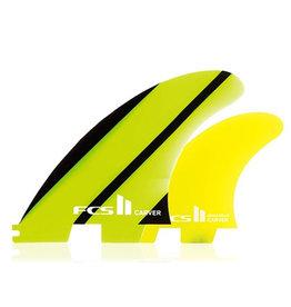 FCS FCS II Carver Neo Glass Large Tri-Quad-Fins