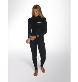 C-Skins C-Skins - 5/4 – Surflite - ML (US10) - Womens – Ink/Azu/Yel