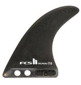 """FCS FCS II Delpero PG 7.5"""" Black"""