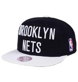 Mitchell & Ness Mitchell & Ness - XL Logo Snapback - Brooklyn Nets