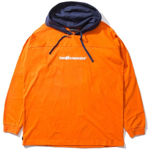 The Hundreds The Hundreds - Beach Hodded LS - S - Orange