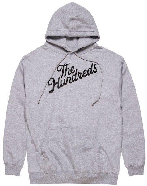 The Hundreds The Hundreds - Forever Slant Hood - M - Athletic Heather
