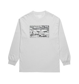 Polar Polar - Straight From the Hood - L - Ice Grey LS