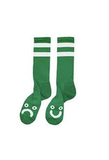 Polar Polar - Happy Sad Sock - 39-42 - Green