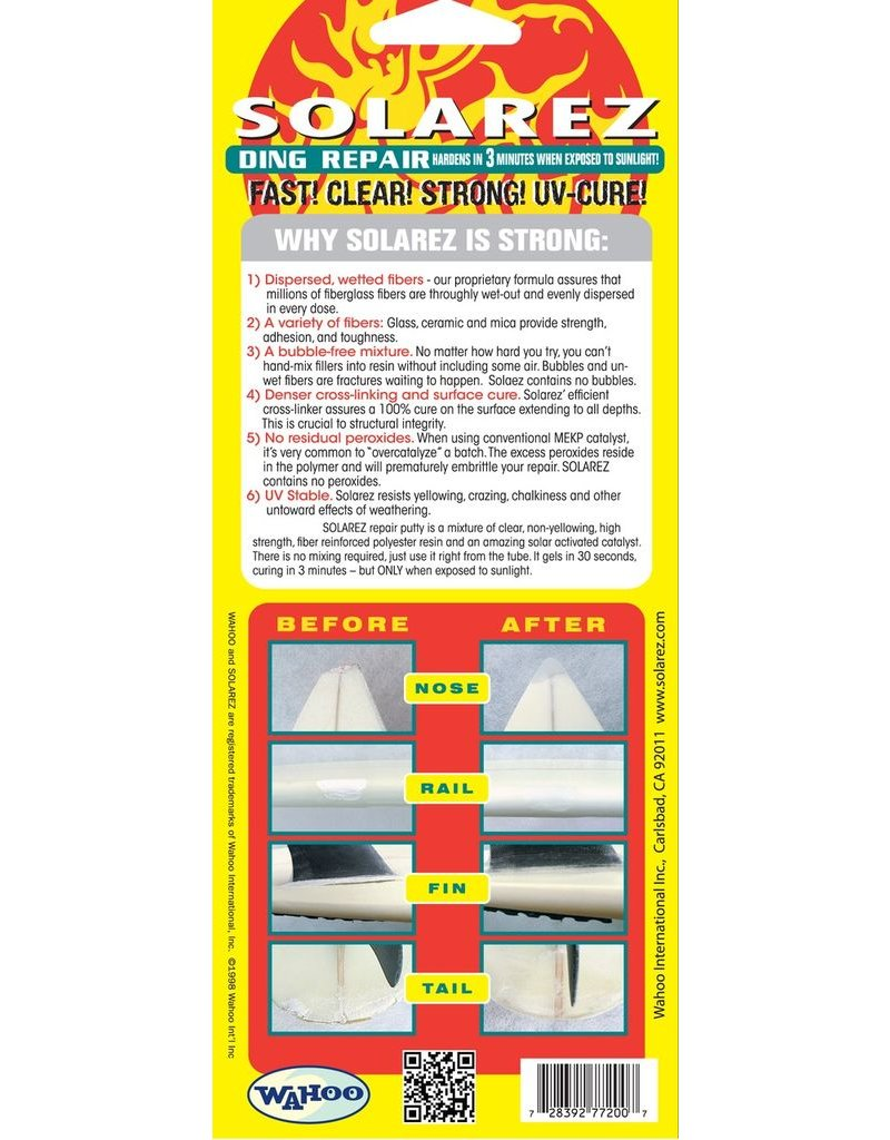 Solarez Solarez UV Polyester Ding Repair 55g (Stor tube)