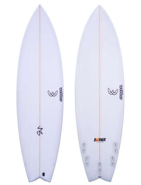 Aloha Webber - Burner PU FCS II - 6'6 - 39.61L
