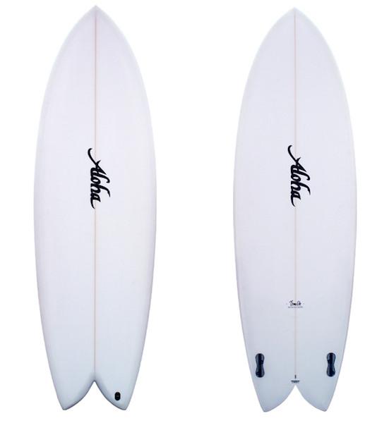 Aloha Aloha - Keel Twin PU FCS II - 5'10 36.88L
