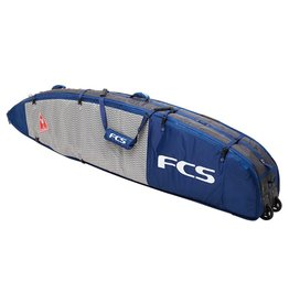 FCS FCS 7'6 Triple Wheelie All Purpose Travel Cover, in Deep Ink