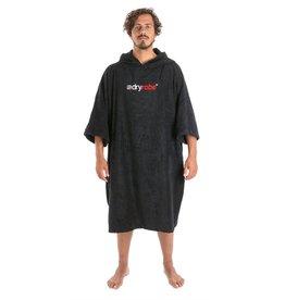 dryrobe Dryrobe towel L Black Poncho Skiftehåndkle Bomull