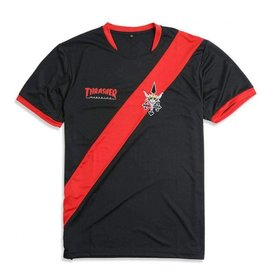 Thrasher Thrasher - Futbol - L - Jersey - Black/Red