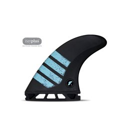 Future Fins Futures - F8 Alpha - Carbon/Green - L (80kg+)