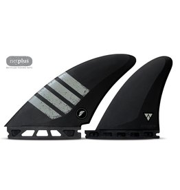 Future Fins Futures - CONTROLLER QUAD Alpha - Carbon/Grey -