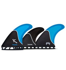 Future Fins Futures - LOST 5-FN SET Honeycomb - Blue/Black/Carbon - L (80kg+)