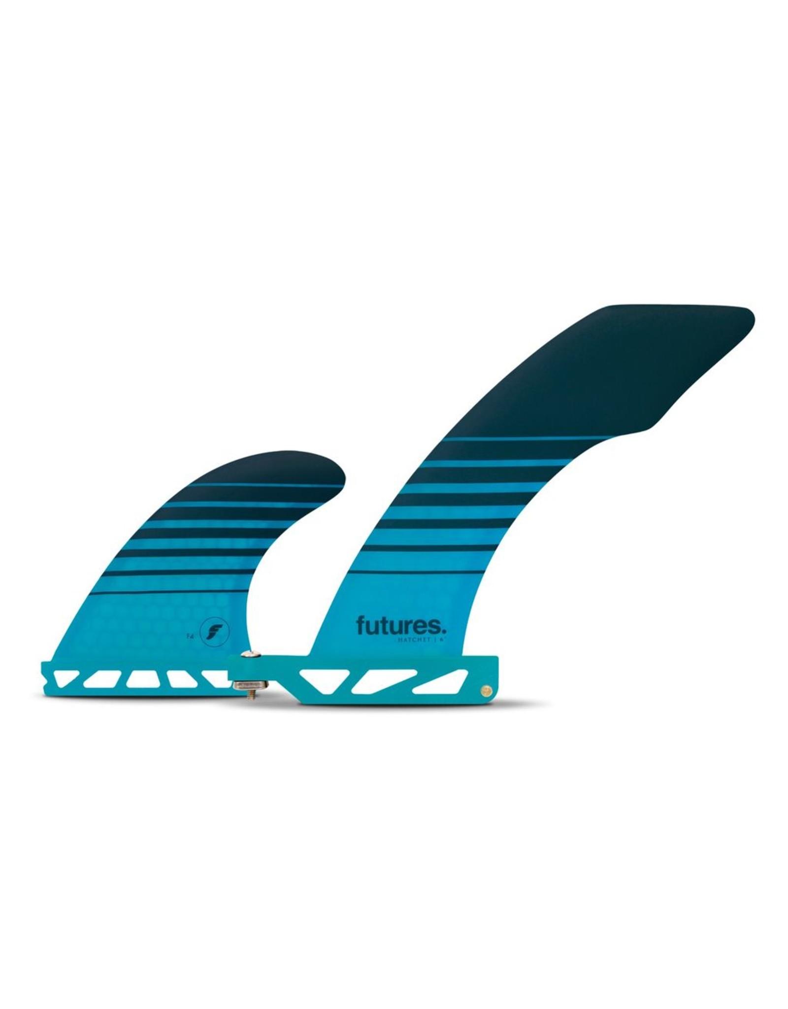 Future Fins Futures - HATCHET 2+1 Honeycomb - Teal
