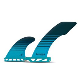 Future Fins Futures - HATCHET 2+1 Honeycomb - Teal