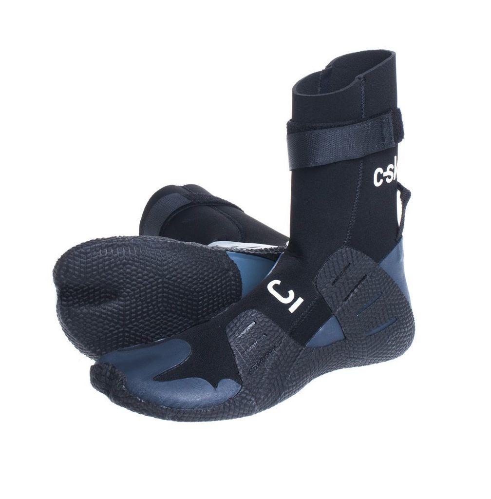 C-Skins C-Skins - Session 3mm Adult GBS Hidden Split Toe Boots - Black - UK9/US9,5/43