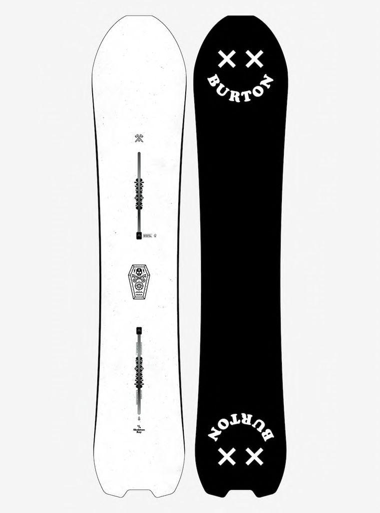 Burton Burton - Skeleton Key - 158cm - Directional Camber