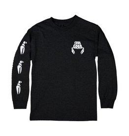 Crab Grab Crab Grab - Classic Sleeve Tee - M - Black