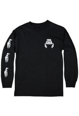 Crab Grab Crab Grab - Classic Sleeve Tee - XL - Black