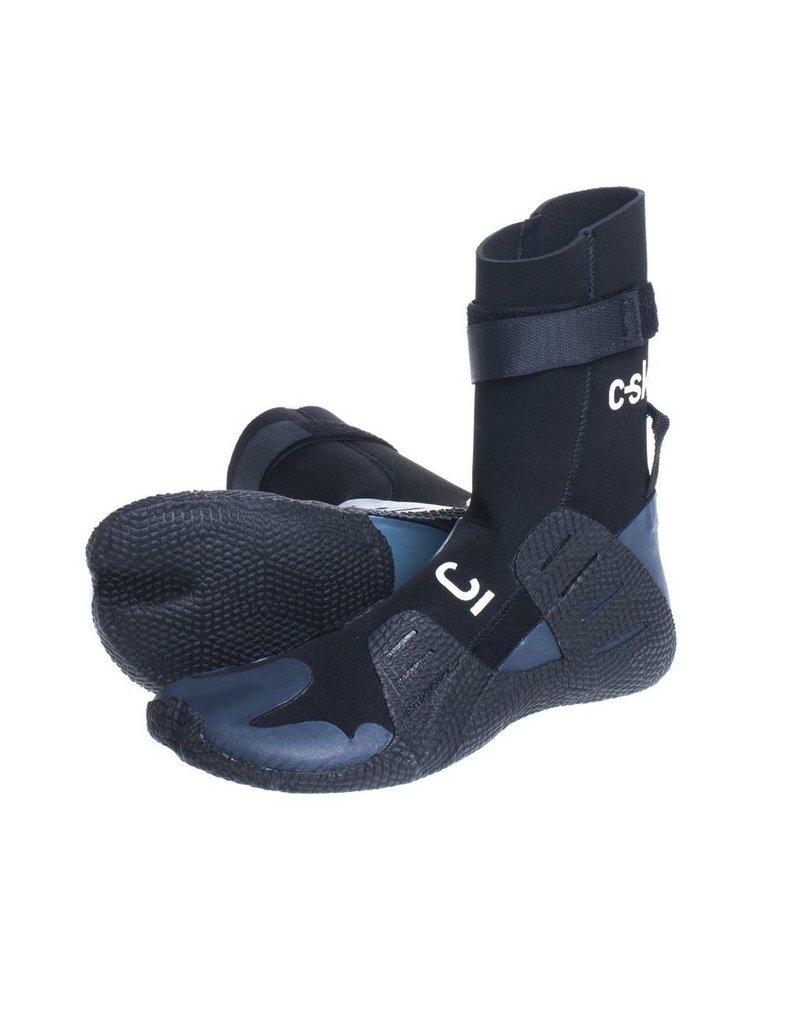 C-Skins C-Skins - Session 3mm Adult GBS Hidden Split Toe Boots - Black - UK11/US11,5/46