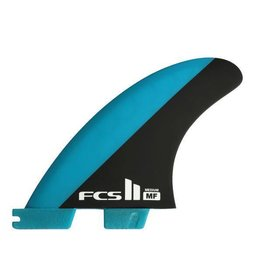 FCS FCS II Mick Fanning PC Blue/Black Medium Tri-Fins