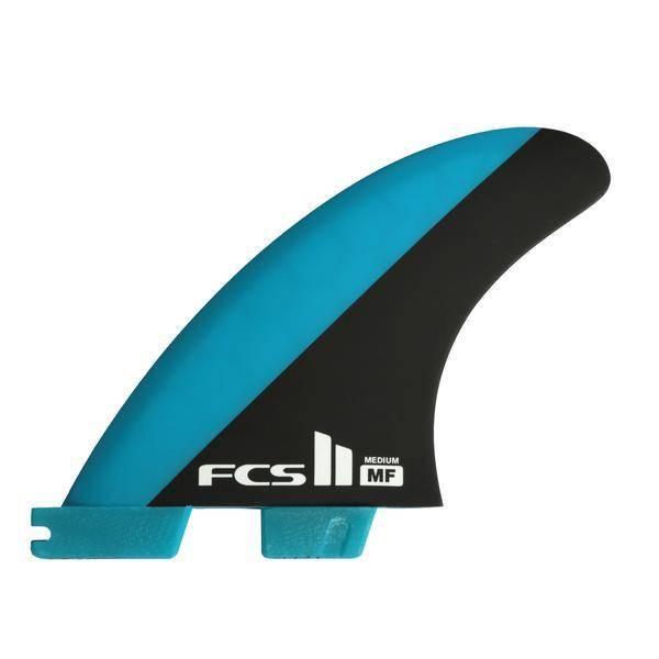 FCS FCS II Mick Fanning PC Blue/Black Medium Tri-Fins