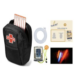 Dakine Survival Kit • Solo Bag, tau, Glowstick, Tear-Aid & Aquapack