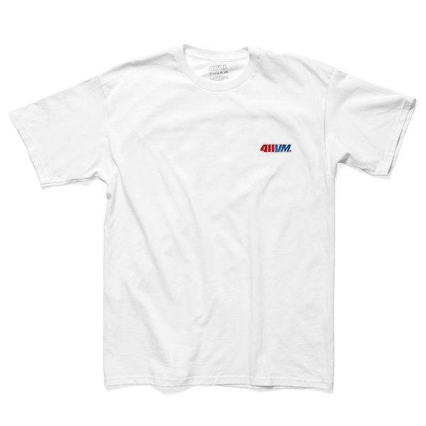 Transworld 411VM - Embroidered - L - White