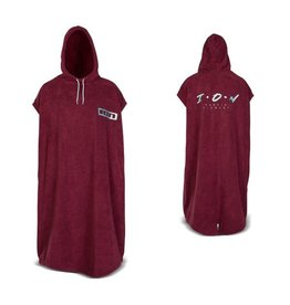 ION ION - Poncho Core S dark Red
