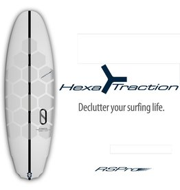 RSPro Hexa Traction Board Grip - Surf uten voks!