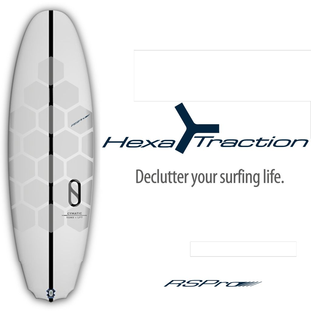 RSPro Hexa Traction Board Grip - Surf uten voks!