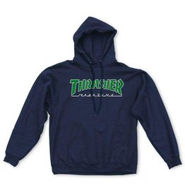 Thrasher Thrasher - Outlined Hood - M - Navy