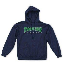 Thrasher Thrasher - Outlined Hood - M - Navy