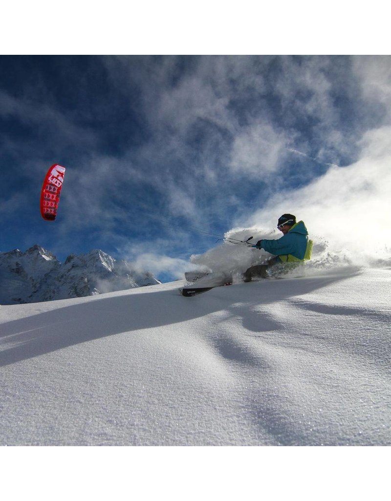Gin Gin - 6m2 Shaman2 + Iced bar komplett Snow Kite (3-12m/s)