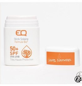 EQ EQ - White Sun stick SPF50+ Solkrem Reef safe!