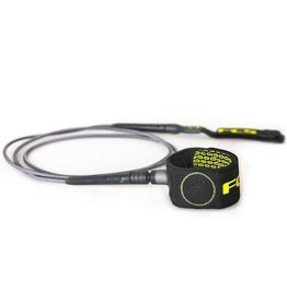 FCS FCS - 6' Freedom Leash - Charcoal/Green