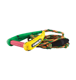 Hyperlite 25' Pro Surf Rope w/Handle Rasta