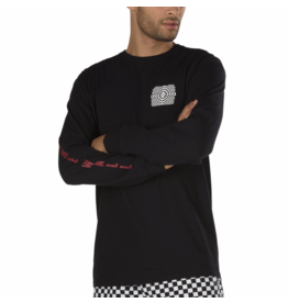 Vans Vans - Warped Check - L - LS Black